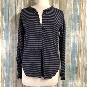 Splendid striped blouse  size Small